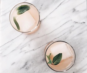 cocktail, drinks, and summer image