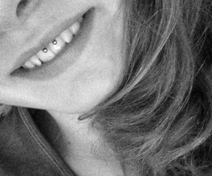 piercing, quotes, and smiley image