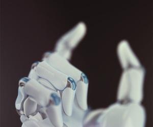 cyberpunk, hans, and robot image