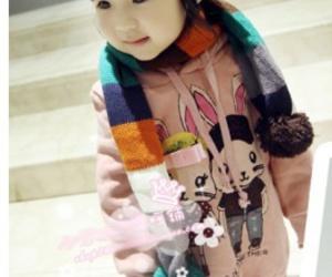 asian, asian girl, and kid image