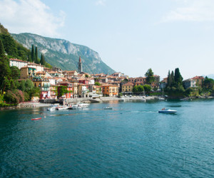 boats, holiday, and italy image