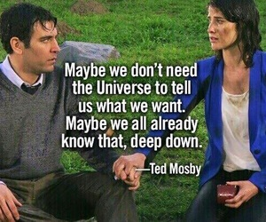 himym, robin, and TED image
