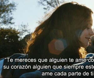 love, frases, and feelings image