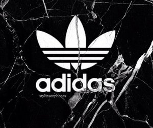 adidas, black, and cool image