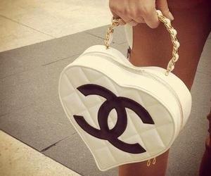 chanel, bag, and heart image