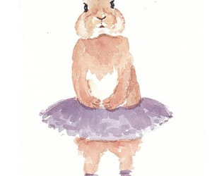 cute, rabbit, and art image