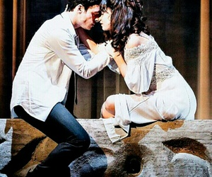 richard madden, romeo and juliet, and lily james image