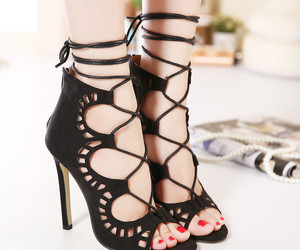 party, shoes, and women fashion image