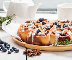 blueberries, breakfast, and Cinnamon image