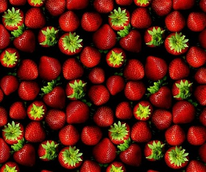 strawberry, red, and fruit image