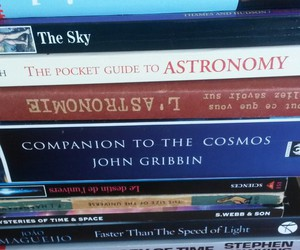 astronomy, books, and english image