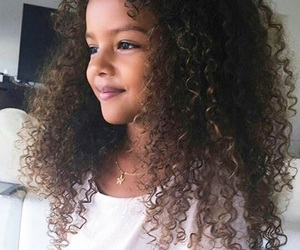 hair, child, and beauty image