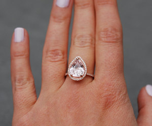 etsy, handmade, and engagement rings image
