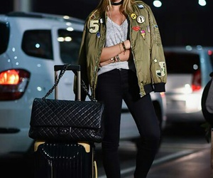 fashion blogger, fashion style, and airport style image