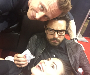 dominic cooper, tom hiddleston, and hayley atwell image