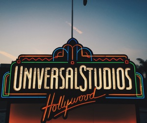 Amusement Parks, hollywood, and movies image