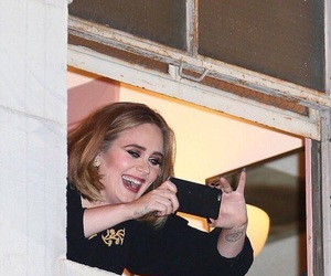 reaction, Adele, and funny image