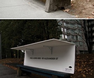 funny, homeless, and london image