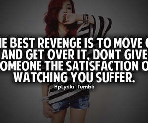 quote, revenge, and move on image