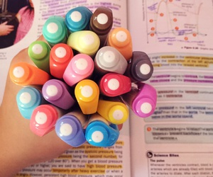 colourful, colours, and highlighter image
