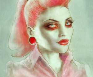 zombie, Pin Up, and art image