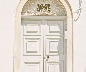 door, vintage, and white image