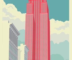 city, art, and illustration image
