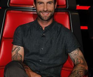 maroon 5, the voice, and adam levine image