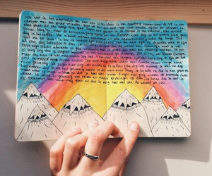 art, cute, and book image