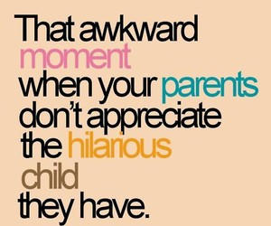 parents, funny, and quote image