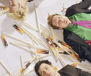 green day, tre cool, and mike dirnt image