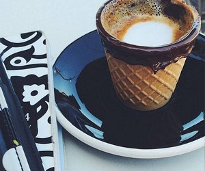 coffee and cone image