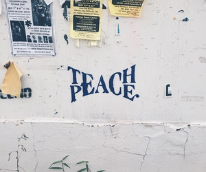 peace, quotes, and teach image
