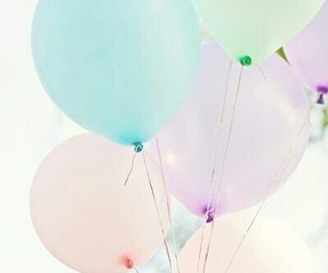 color, ballons, and inspo image