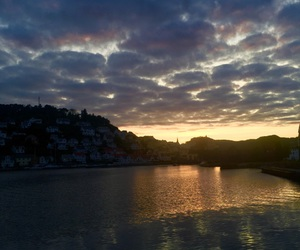 summer, solnedgang, and norge image