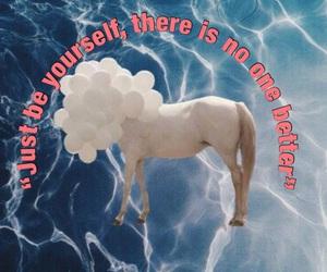 horse, sea, and unicorn image