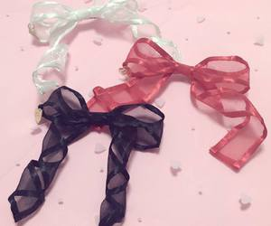pink and ribbon image