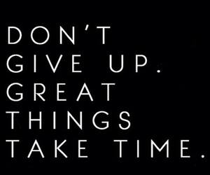 don't give up, fitness motivation, and fitness quote image