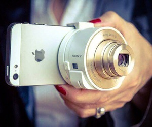 apple, cute, and cameras image