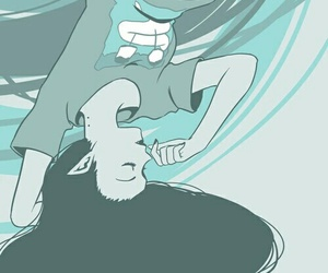 adventure time, marceline, and blue image
