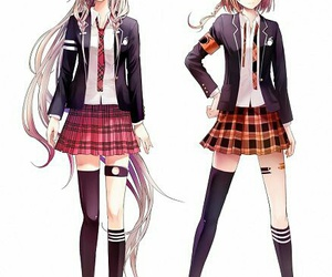 one, vocaloid, and ia image