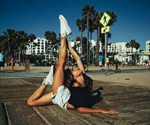 gymnastic and summer image
