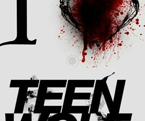 teen wolf, black, and header image