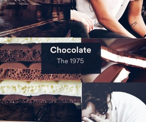 chocolate, one direction, and wallpaper harry styles image