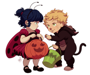 miraculous ladybug, Adrien, and marinette image