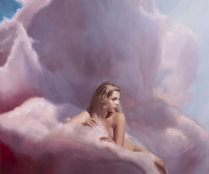 candy floss, clouds, and cotton candy image