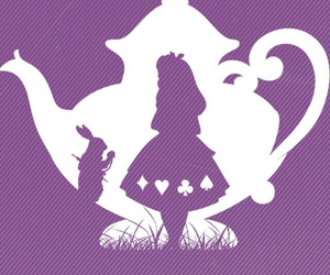 alice in wonderland, alice, and wallpaper image