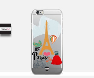 accessories, transparent case, and etsy image