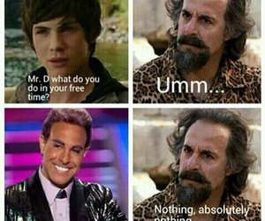 hunger games, percy jackson, and funny image