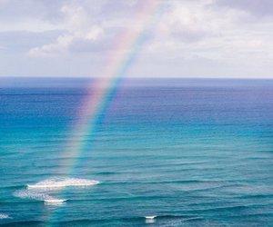 kawaii, pastel, and rainbow image